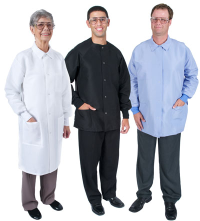 Fluid Resistant Lab Coats and Jackets